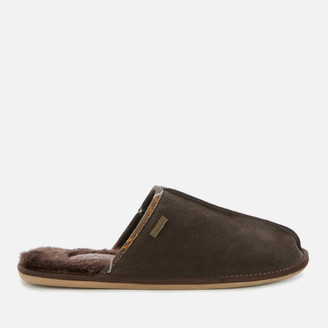 Barbour Men's Malone Suede Slippers