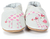 Robeez Baby Girls Reach For The Stars Soft Sole Crib Shoes