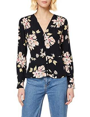 Warehouse Women's Sia Floral Printed Top,8