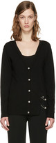 Versus Black Double Pin Cardigan