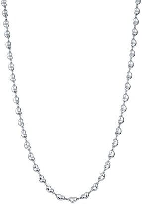 Tiffany & Co. Elsa Peretti Bean Design necklace in sterling silver