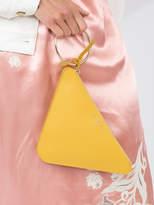 Sara Battaglia Triangle clutch
