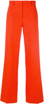 Paul Smith flared palazzo pants - women - Cotton/Linen/Flax - 38