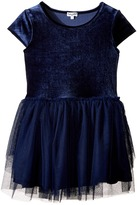 Splendid Littles Velour with Triple Mesh Dress (Toddler)