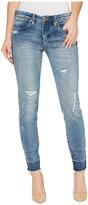 Blank NYC Denim Distressed Crop Skinny in Box Fresh Women's Jeans