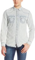 True Religion Western Button-Front Shirts S Men