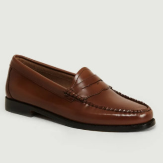 G.H. Bass G.H.Bass - Cognac Weejuns Whitney Loafers Shoes - 36