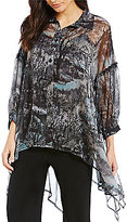 IC Collection Bell Sleeve Shirt