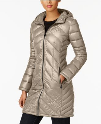 MICHAEL Michael Kors Packable Down Puffer Coat, A Macy's Exclusive