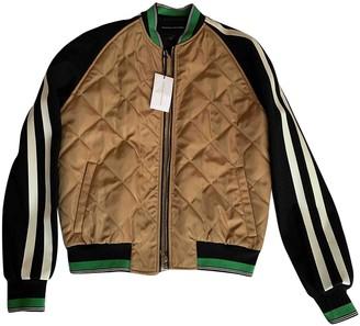 Jonathan Saunders Camel Silk Jackets