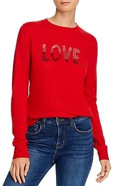 Aqua Zadig & Voltaire x Embellished Merino Sweater - 100% Exclusive