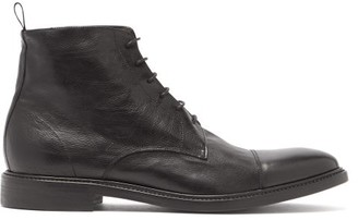 Paul Smith Jarman Lace-up Leather Boots - Mens - Black