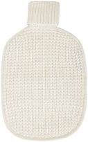 Sofia Cashmere Hot Water Bottle Cover - Cream