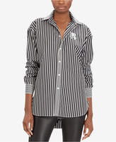 Polo Ralph Lauren Monogram Boyfriend Shirt