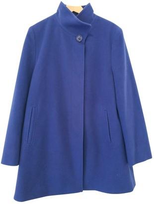 Basler Blue Wool Coat for Women