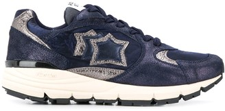 Atlantic Stars Mira metallic panel sneakers