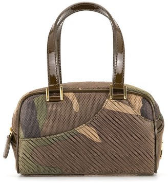 Christian Dior Pre-Owned Mini Camouflage Tote Bag