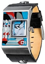 01 The One 01TheOne Unisex AN02M06 Analog Art Edition Double Screen Fashion Watch