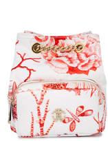 Roberto Cavalli coral print shoulder bag