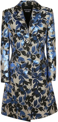Moschino Floral Print Mid-length Dress