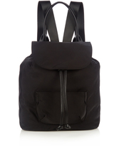 Elizabeth and James Langley leather-trim nylon backpack