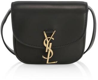 Saint Laurent Mini Kaia Leather Crossbody Bag