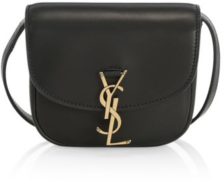 Saint Laurent Mini Leather Crossbody Bag