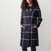 Wool Knit Coat