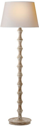 Visual Comfort & Co. Bamboo Floor Lamp - Belgian White