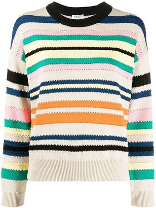 Kenzo Striped Relaxed-Fit Jumper