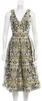 Erdem Night Garden Jacquard Dress w/ Tags