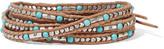 Chan Luu Beaded cord wrap bracelet