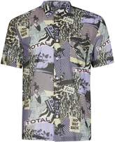 Topman 'No Way Back' Short Sleeve Shirt