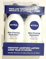 Nivea Q10 Skin Firming Hydration Body Lotion, 21 fl oz (Pack of 2)