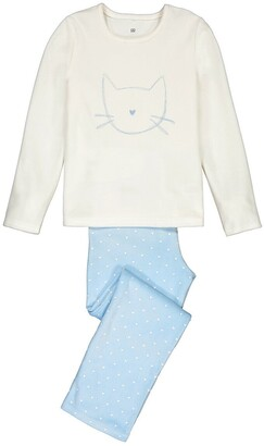 La Redoute Collections Velour Pajamas, 3-12 Years