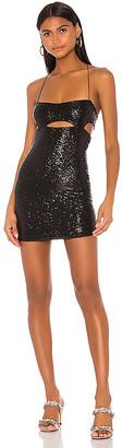 superdown x Draya Michele Ivy Sequin Cut Out Dress