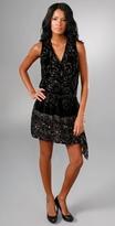 Swirl Velvet Burnout Dress