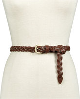 INC International Concepts Triple Woven Braid Skinny Belt, Only at Macy's