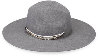 Eugenia Kim Emmanuelle Embellished Wool Felt Hat