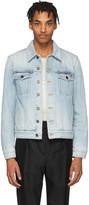Saint Laurent Blue Denim Classic Jacket