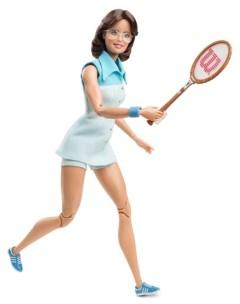 Barbie Billie Jean King Inspiring Women Doll
