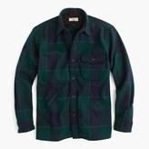 J.Crew Wallace & Barnes shirt-jacket in wool nightwatchmen plaid