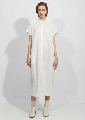 Blue Blue Japan Linen Tuck Shirt Dress