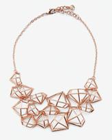 Ted Baker Gem frame statement necklace
