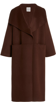 Totême Annecy Oversized Wool and Cashmere Coat