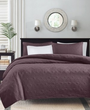 Madison Home USA Quebec 3-Piece Full/Queen Coverlet Set Bedding