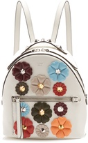 Fendi Flowerland mini leather backpack