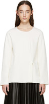 MM6 MAISON MARGIELA Off-white Twill Jersey Pullover