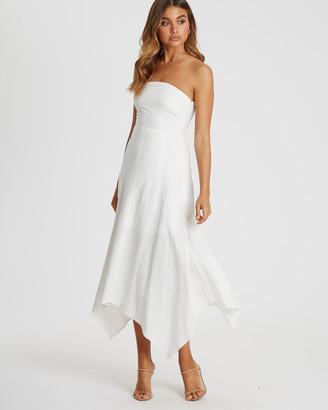Chancery Bel Handkerchief Hem Dress