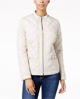 Charter Club Quilted Hardware-Detail Jacket, Created for Macy's